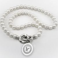 Embry-Riddle Pearl Necklace with Sterling Silver Charm