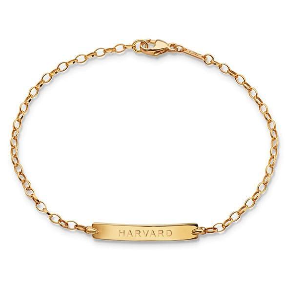 Harvard Monica Rich Kosann Petite Poesy Bracelet in Gold