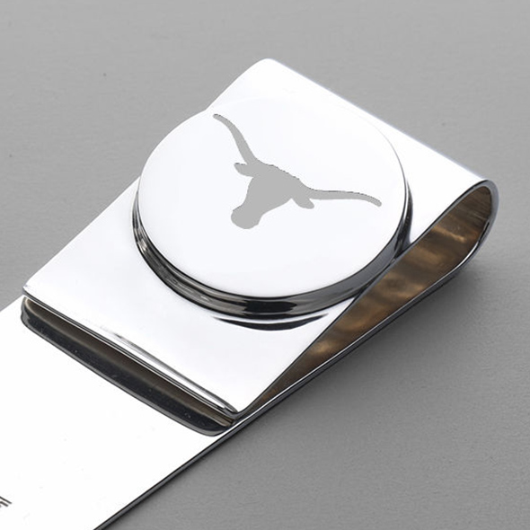 Texas Sterling Silver Money Clip - Image 2