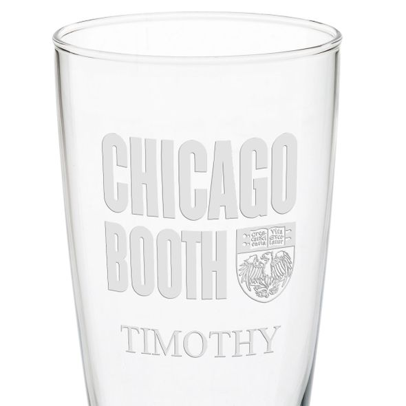 Chicago Booth 20oz Pilsner Glasses - Set of 2 - Image 3