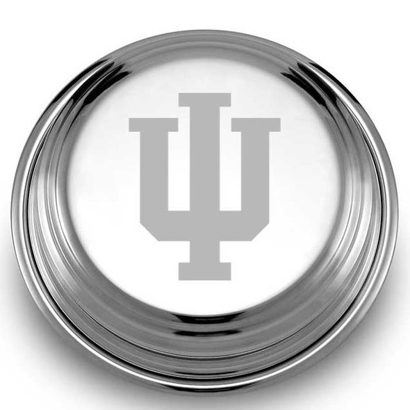 Indiana University Pewter Paperweight - Image 2