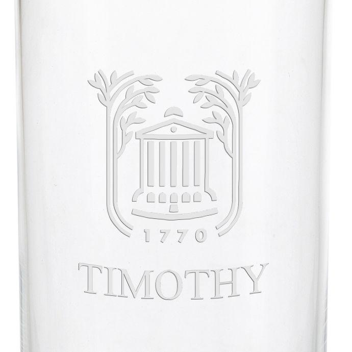 College of Charleston Iced Beverage Glasses - Set of 2 - Image 3