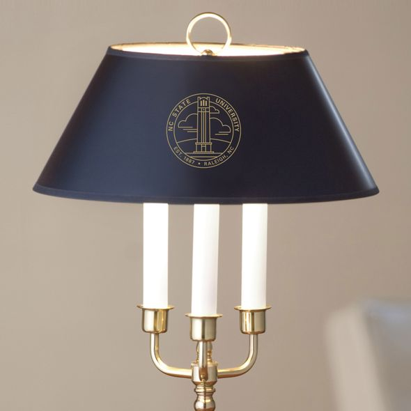 North Carolina State Lamp in Brass & Marble - Image 2