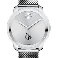 University of Louisville Women's Movado Stainless Bold 36