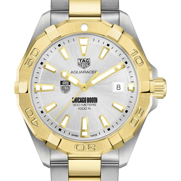 Chicago Booth Men's TAG Heuer Two-Tone Aquaracer
