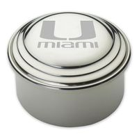 Miami Pewter Keepsake Box