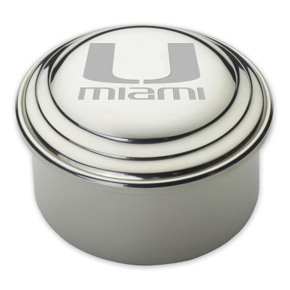 Miami Pewter Keepsake Box - Image 1