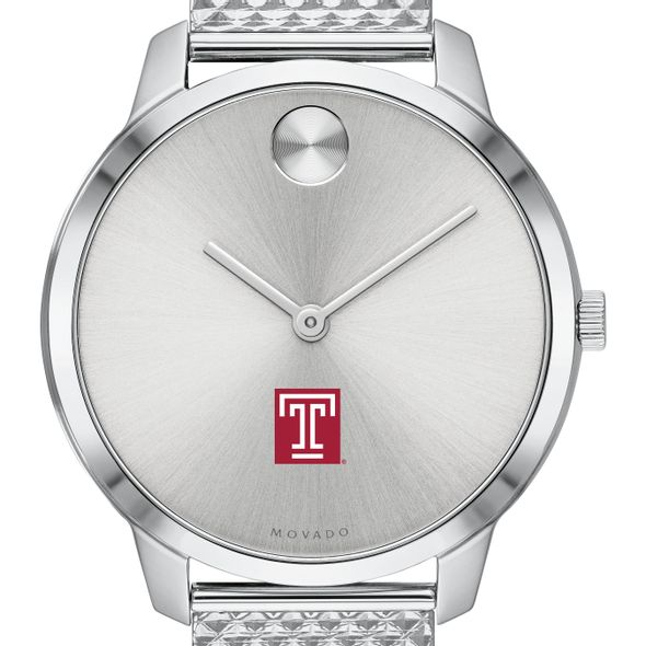 Temple University Women's Movado Stainless Bold 35