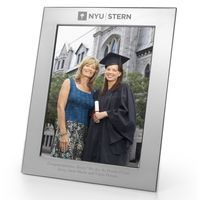 NYU Stern Polished Pewter 8x10 Picture Frame