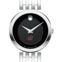 Central Michigan Women's Movado Esparanza Stainless Steel Museum with Bracelet