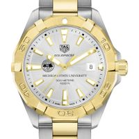 Michigan State University Men's TAG Heuer Two-Tone Aquaracer