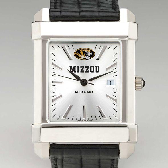University of Missouri Men's Collegiate Watch with Leather Strap