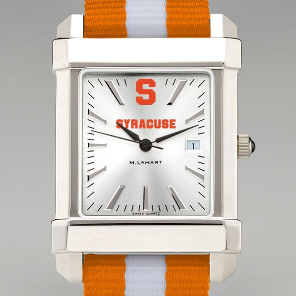 Syracuse University Collegiate Watch with NATO Strap for Men