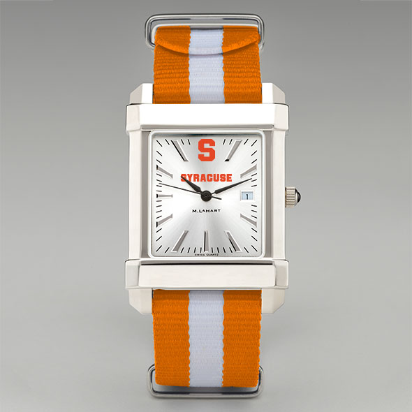 Syracuse University Collegiate Watch with NATO Strap for Men - Image 2