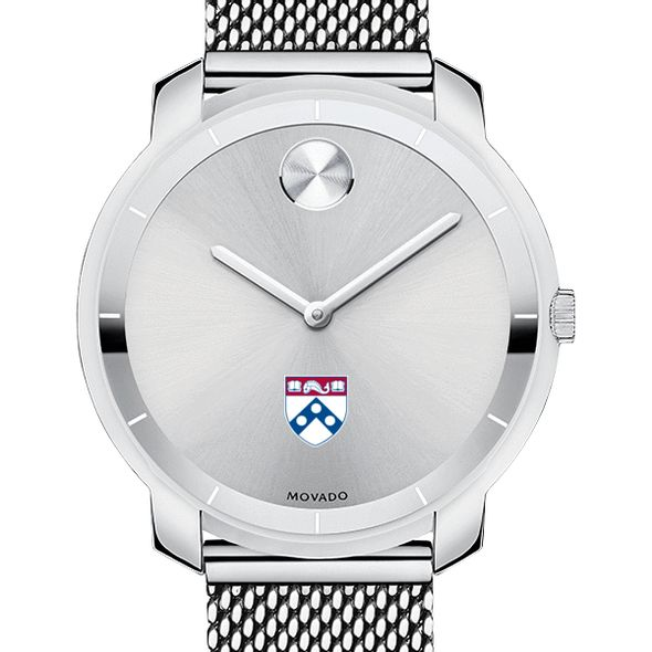 University of Pennsylvania Women's Movado Stainless Bold 36