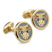 West Point Enamel Cufflinks