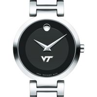 Virginia Tech Women's Movado Museum with Steel Bracelet