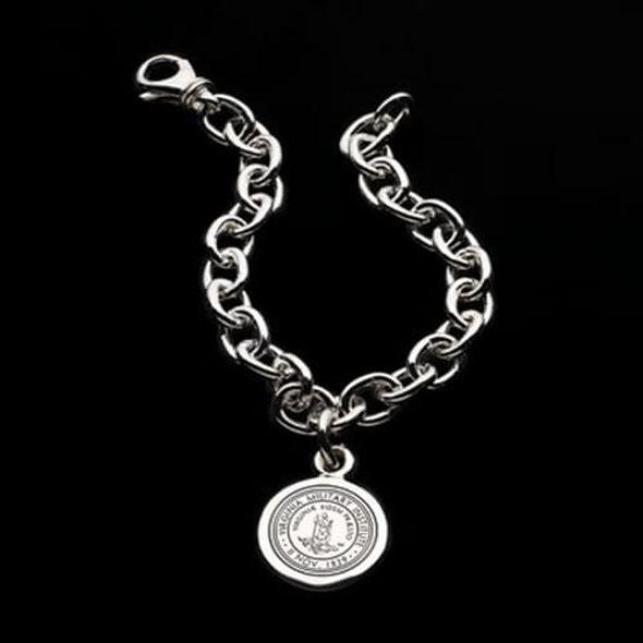 VMI Sterling Silver Charm Bracelet