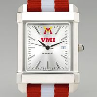 Virginia Military Institute Collegiate Watch with NATO Strap for Men