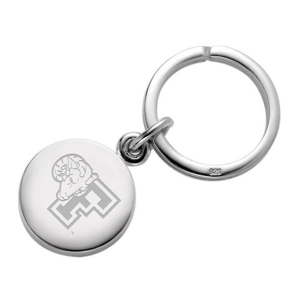 Fordham Sterling Silver Insignia Key Ring - Image 1