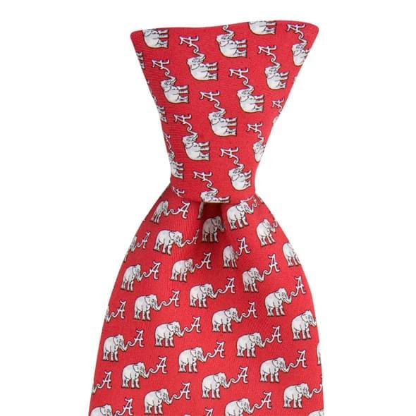 Alabama Vineyard Vines Tie in Red - Image 2