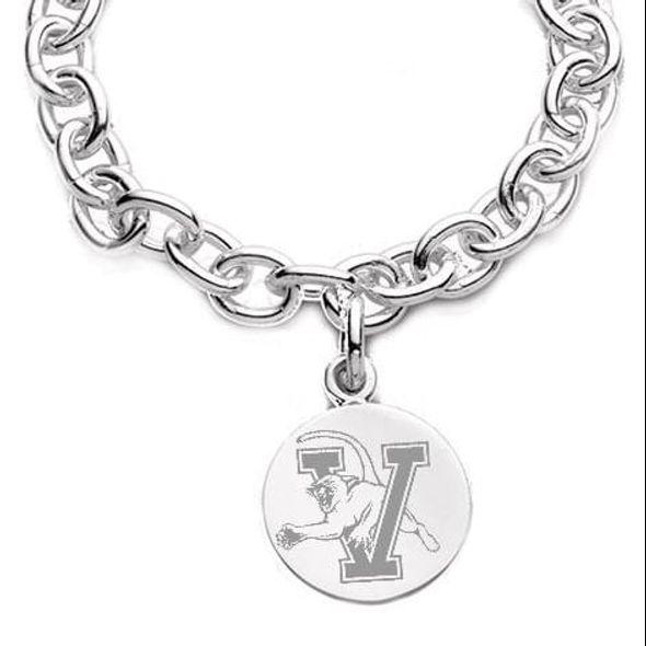 UVM Sterling Silver Charm Bracelet & Charm - Image 2