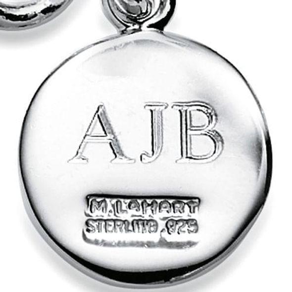 UVM Sterling Silver Charm Bracelet & Charm - Image 3