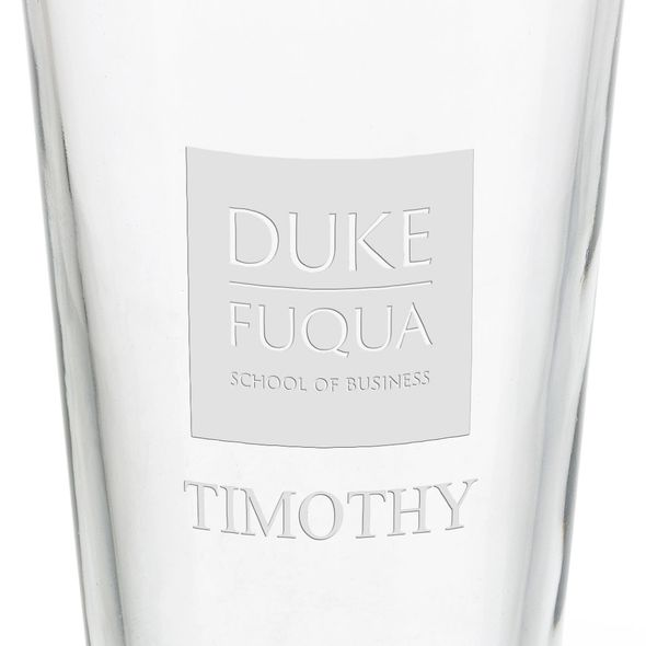 The Fuqua School of Business 16 oz Pint Glass - Image 3