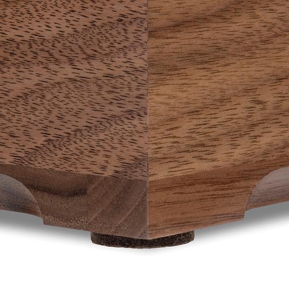 Clemson Solid Walnut Desk Box - Image 4