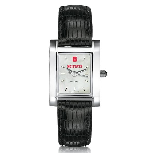 NC State Women's MOP Quad with Leather Strap - Image 2