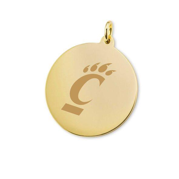 Cincinnati 18K Gold Charm - Image 1