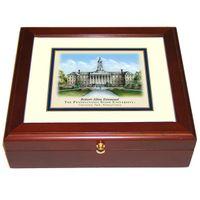 Penn State Eglomise Mini Desk Box