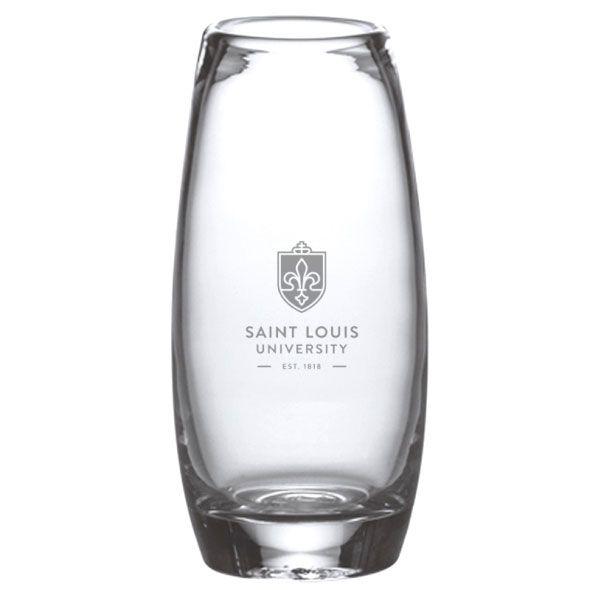 Saint Louis University Glass Addison Vase by Simon Pearce