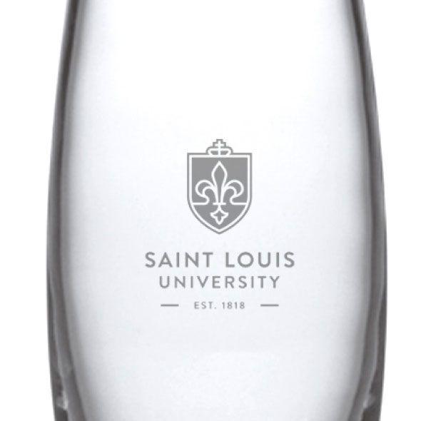 Saint Louis University Glass Addison Vase by Simon Pearce - Image 2