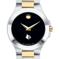 Louisville Women's Movado Collection Two-Tone Watch with Black Dial