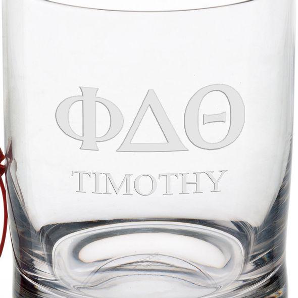 Phi Delta Theta Tumbler Glasses - Set of 2 - Image 3