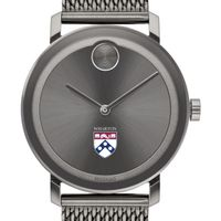 Wharton Men's Movado BOLD Gunmetal Grey with Mesh Bracelet