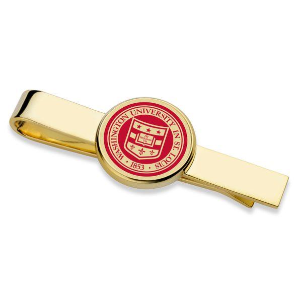 WashU Enamel Tie Clip