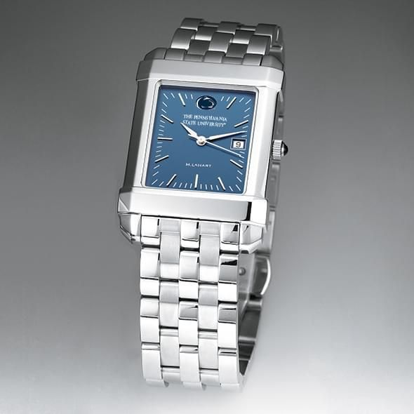 Penn State Men's Blue Quad Watch with Bracelet - Image 2