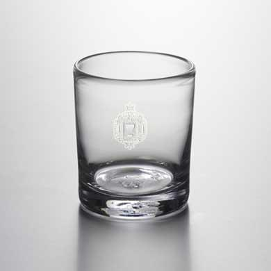 USNA Double Old Fashioned Glass by Simon Pearce