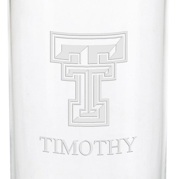 Texas Tech Iced Beverage Glasses - Set of 4 - Image 3
