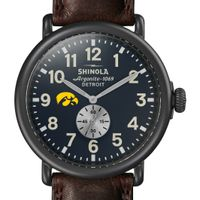 Iowa Shinola Watch, The Runwell 47mm Midnight Blue Dial