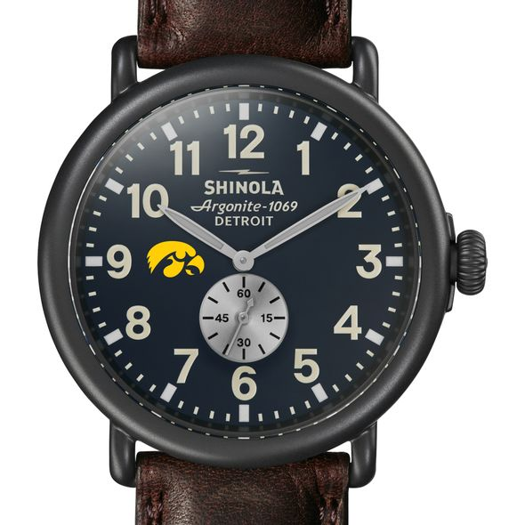 Iowa Shinola Watch, The Runwell 47mm Midnight Blue Dial