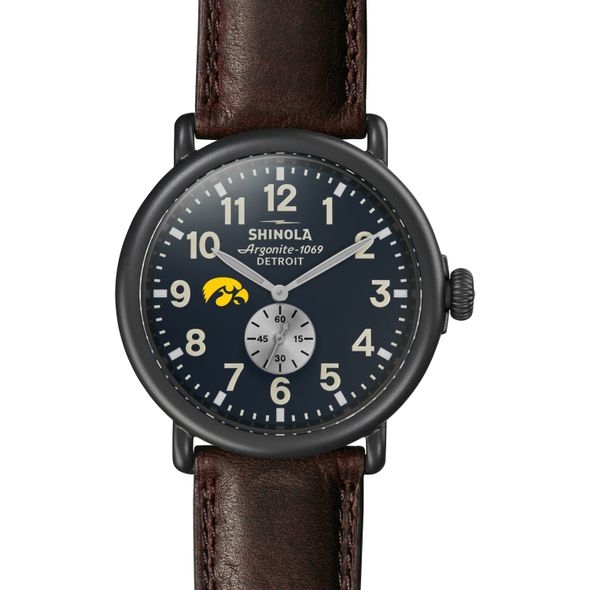 Iowa Shinola Watch, The Runwell 47mm Midnight Blue Dial - Image 2