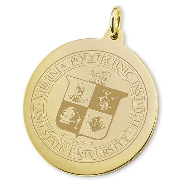 Virginia Tech 18K Gold Charm - Image 2