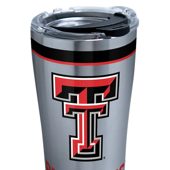 Texas Tech 20 oz. Stainless Steel Tervis Tumblers with Hammer Lids - Set of 2 - Image 2