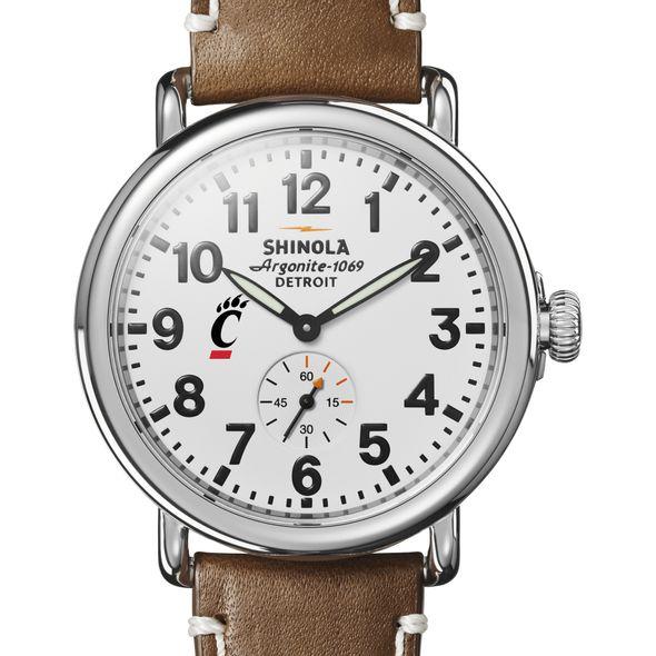 Cincinnati Shinola Watch, The Runwell 41mm White Dial - Image 1