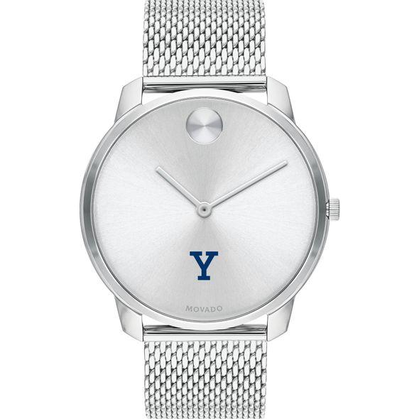 Yale University Men's Movado Stainless Bold 42 - Image 2