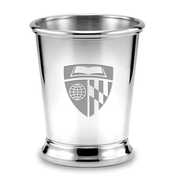 Johns Hopkins Pewter Julep Cup