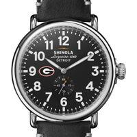 Georgia Shinola Watch, The Runwell 47mm Black Dial